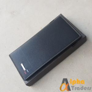 Bovis WL126 Original Leather Long Wallet Black