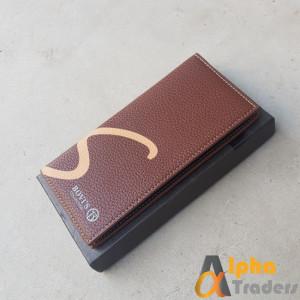 Bovis WL127 Leather Long Wallet Brown