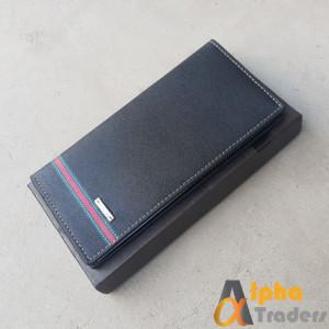 Bovis WL137 Original Leather Long Wallet Black Designed