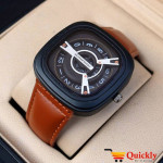 Seven A1341 Friday Watch Leather Strap Seven Friday