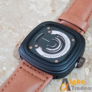 Seven Friday SF-M2/01 Black Watch Leather Strap Seven Friday