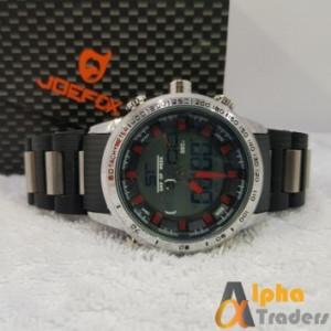 JOEFOX 1718-1 Sports Watch Analog Digital Model