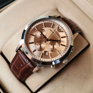 Emporio Armani AR-2433 Chronograph Watch With Date
