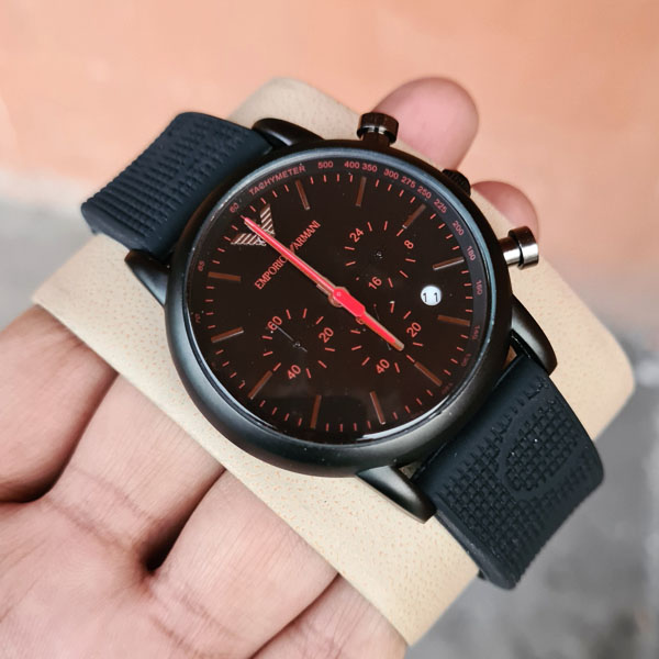 Emporio Armani AR-11024 Chronograph Watch With Date