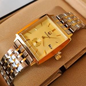 True Worth 3199 Gold Chain Strap Watch
