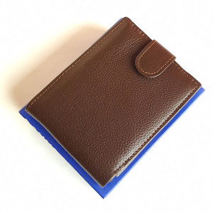 Brown WL108 Export Quality Genuine Leather Wallet