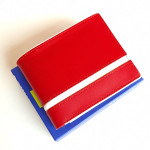Red WL106 Genuine Leather Wallet (Export Quality)