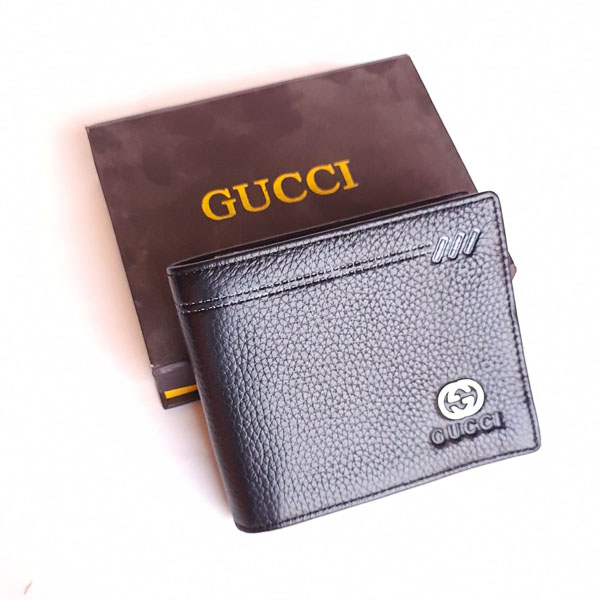 Gucci Black Color Imported Wallet With Box