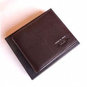 Prada Brwon Color Wallet With Box