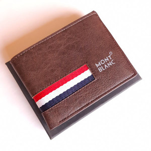 Mont Blanc Multi Color Wallet With Box