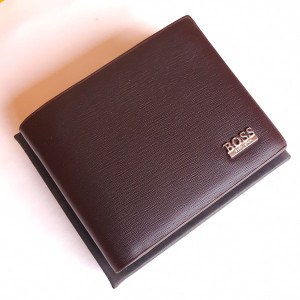 Boss Brown Color Wallet With Box