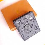 Louis Vuitton Black Color Wallet With Box