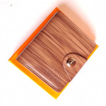 Boss Light Brown Color Wallet With Box