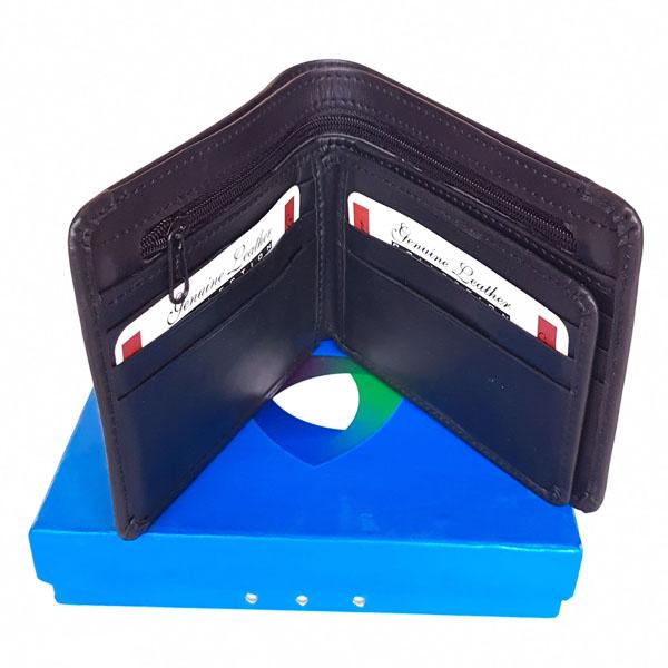 Original Leather Wallet Black Color