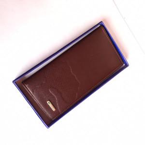 Bovis Long Wallet Brown Color
