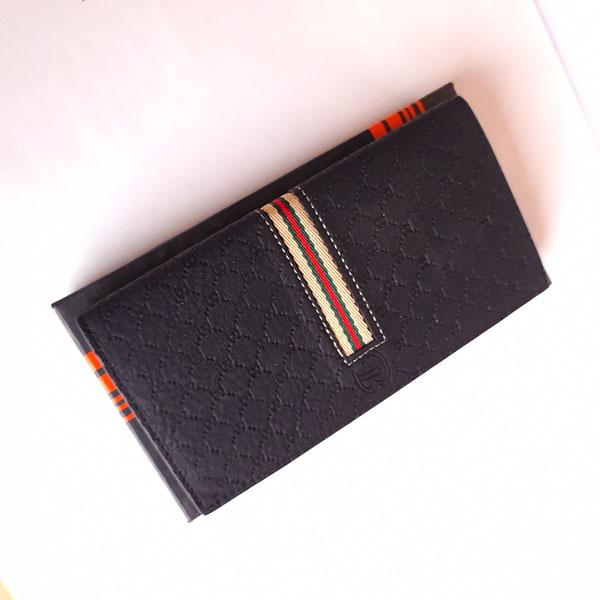 Balisi Long Wallet Black Color With Box